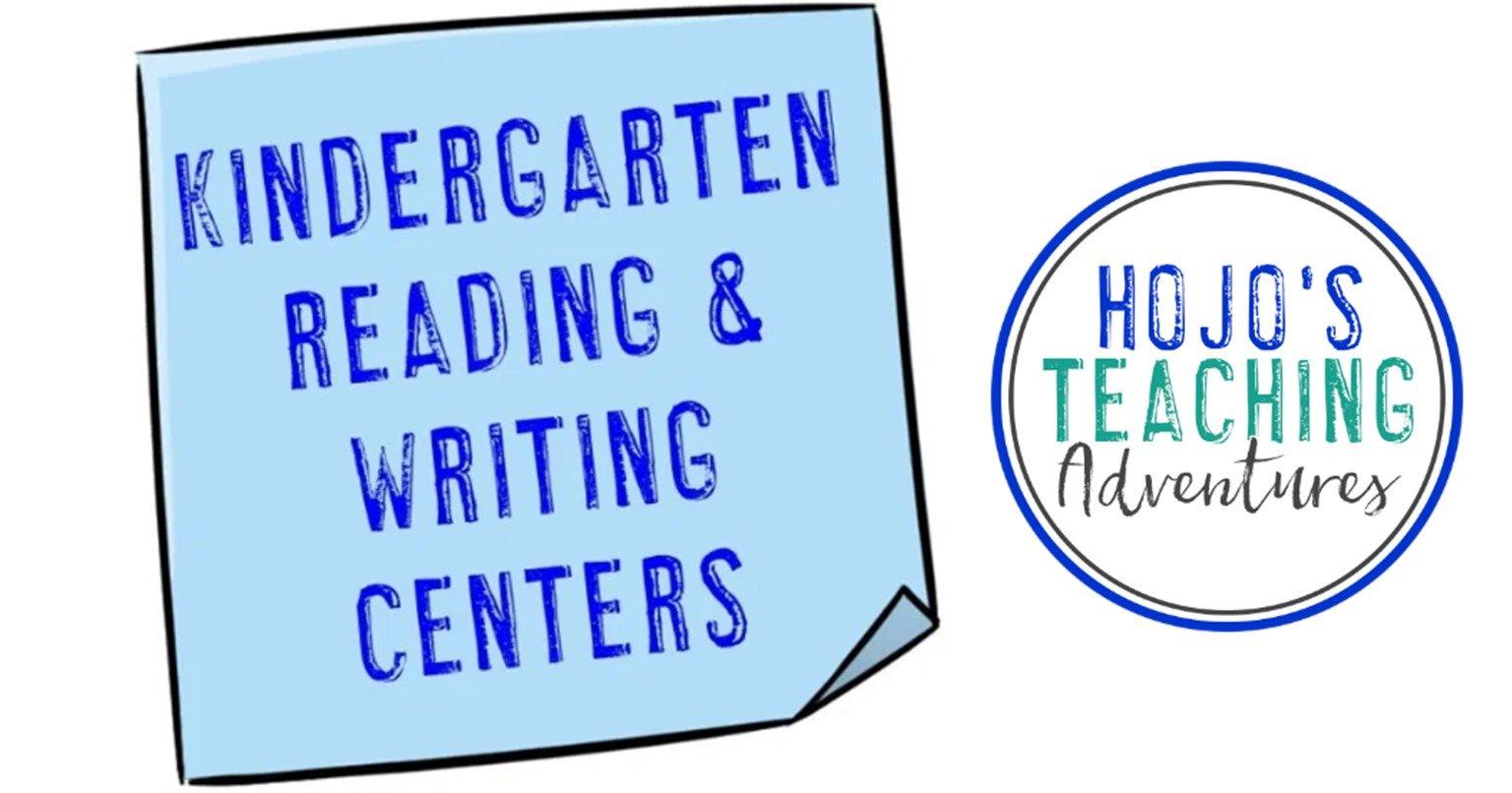 kindergarten reading & writing centers