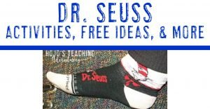 dr. seuss activities, free ideas, & more