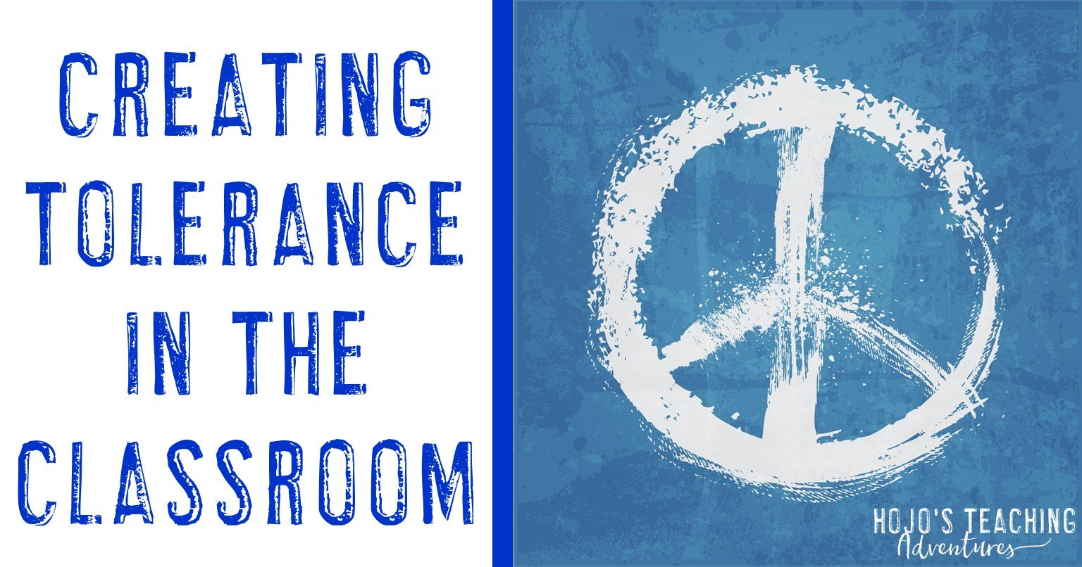 creating tolerance in the classroom