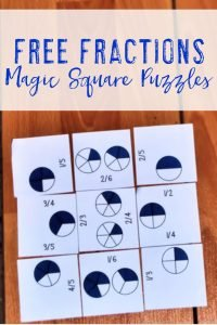 FREE Fraction Math Center - Use this freebie with your 2nd, 3rd, 4th, 5th, or 6th grade classroom or home school students. These work great for your math centers, stations, or rotations. They're also great for review, critical thinking skills, promoting a growth mindset, enrichment, GATE, and more. Make sure to pick up your FREE copy today! {second, third, fourth, fifth, sixth graders, homeschool, fractions}