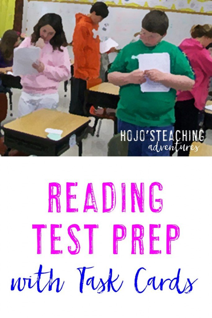 If you're looking for reading test prep, task cards might be your solution! Click to find out how you can use these to prep for the big test!
