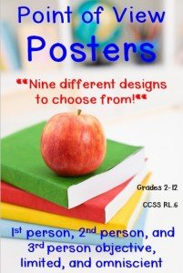 These Point of View Posters are great for helping students in your classroom better understand the concept! Click through to see the nine different posters options available to print, and download your copy today!