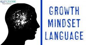 growth mindset language