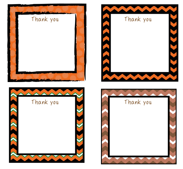 Thanksgiving Thank You Notes FREEBIE
