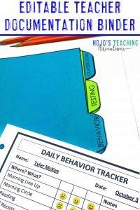 Editable Teacher Documents