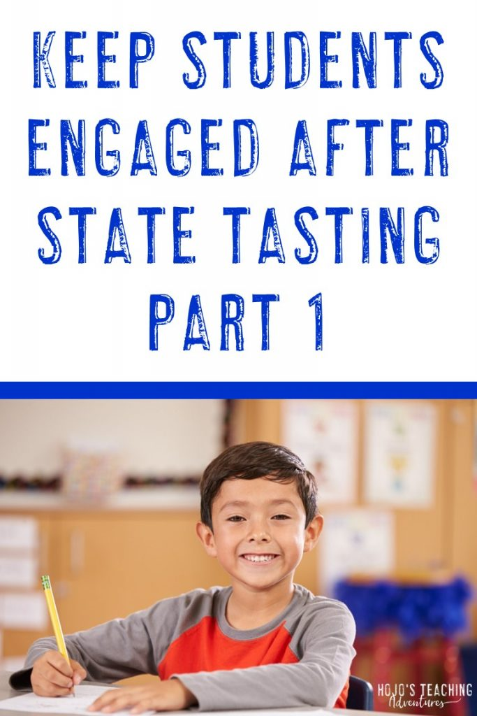 keep students engaged after state tasting part 1
