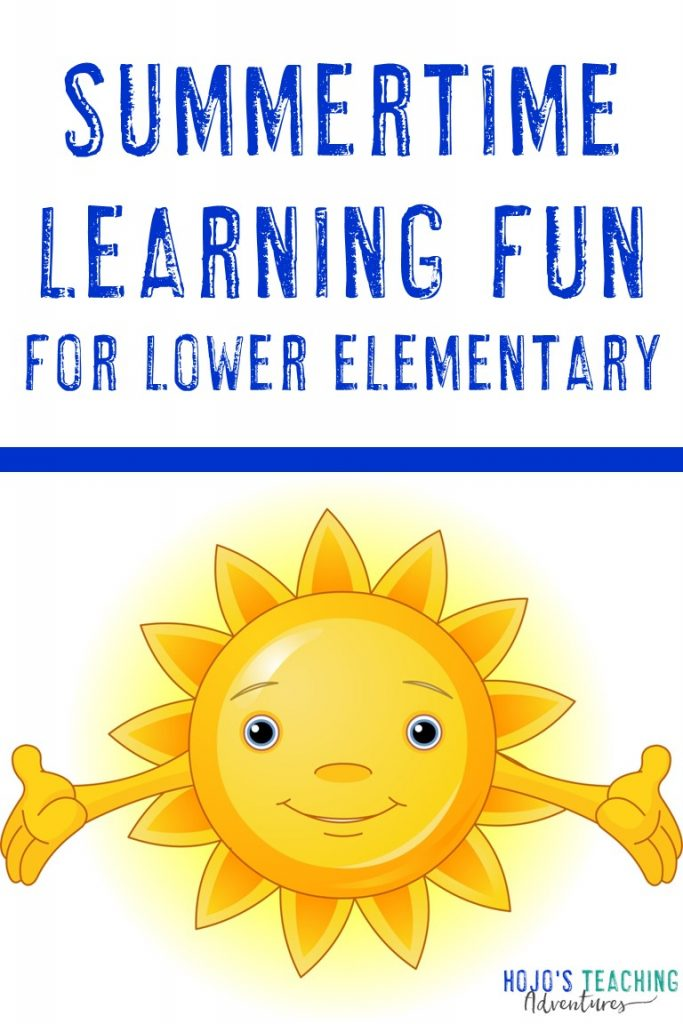 summertime learning fun for lower elementary