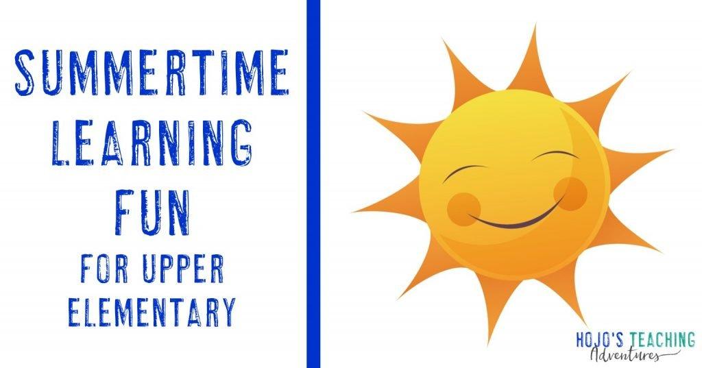 Upper Elementary Summertime Learning