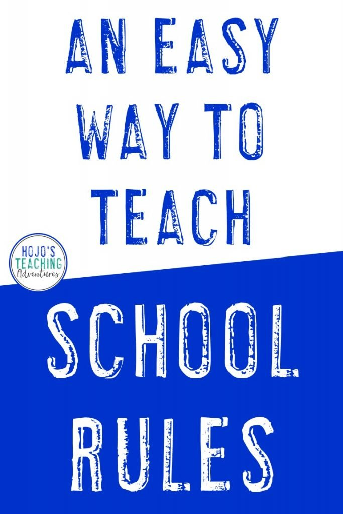 Here is a great way to teach your classroom rules from day one! It's just three simple rules for any elementary classroom. Then you explicitly teach what each one looks like. By the end of the first week of school, every student will know the rules - and you'll be all set for a great year! Use this during back to school OR anytime you need to get a handle on behaviors and nip something. Perfect for your preschool, Kindergarten, 1st, 2nd, 3rd, 4th, 5th, or 6th grade classroom. #HoJoTeaches