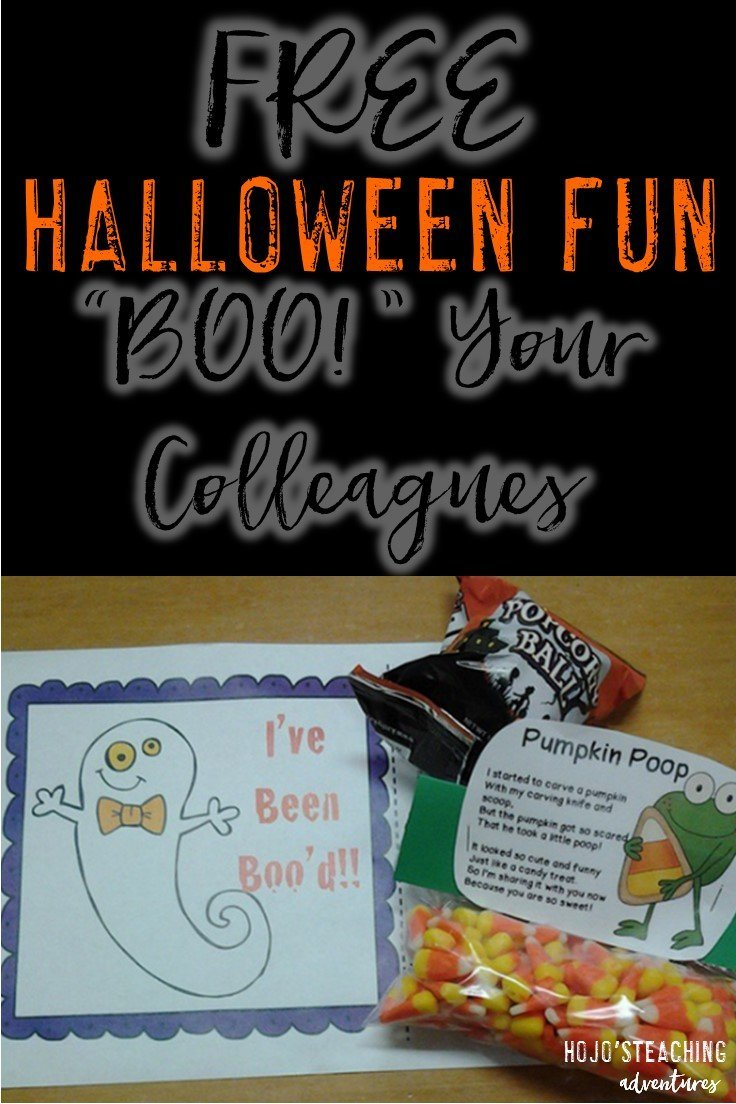 """BOO"" Your Colleagues This Halloween!"