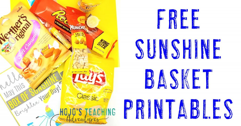 free sunshine basket printables