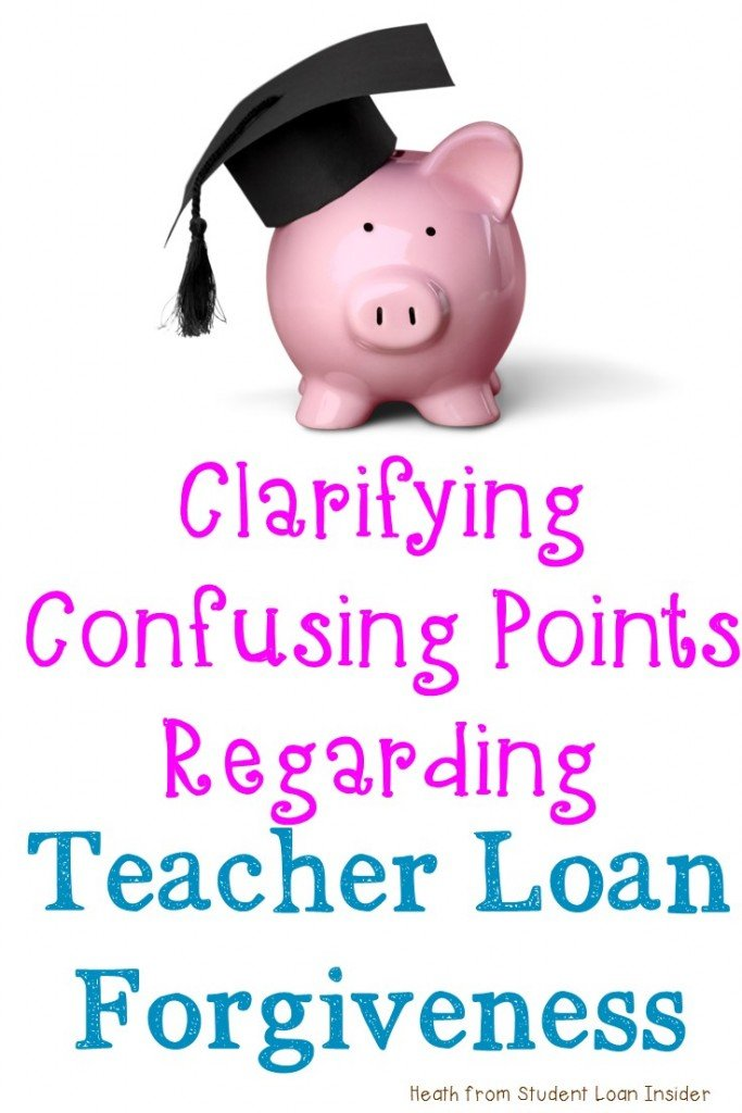 Are you being crushed by your student loan debt? If you're a teacher, there's hope! Click through to see how you might qualify for loan forgiveness. Heath from Student Loan Insider gives you great information to help clarify confusing points regarding teacher loan forgiveness. Click through to learn more (and you can even sign  up for a free guide with more great information!)