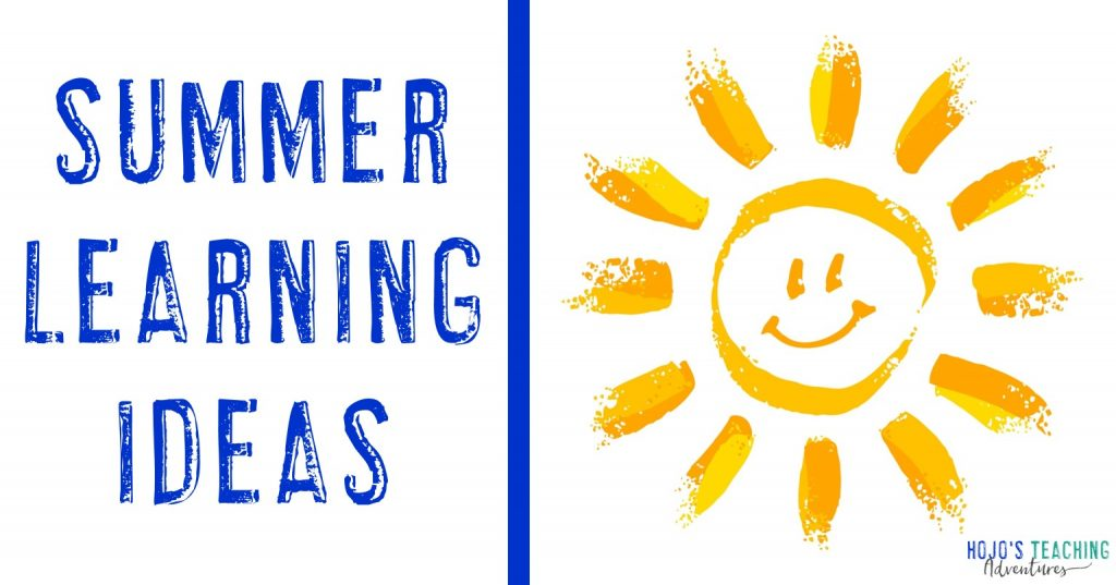 summer learning ideas