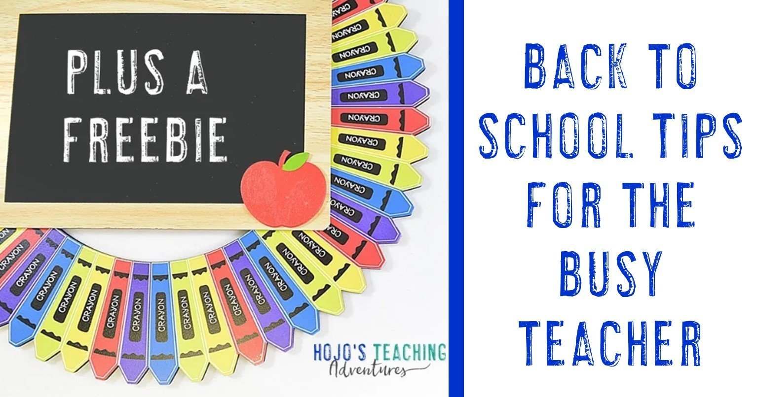 back to school tips for the busy teacher