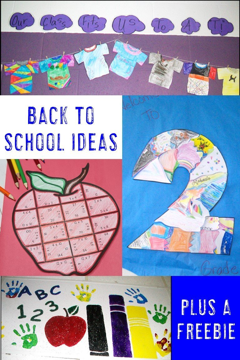 If you're on the lookout for some great back to school activities and ideas - this is it! This blog post contains great FREE downloads, puzzles, bulletin board ideas, collaboration fun, and more to help get the school year started off on the right foot. You'll find ideas for EVERY elementary grade level - preschool, Kindergarten, 1st, 2nd, 3rd, 4th, and 5th grade. Click through to get some great BTS awesomeness!