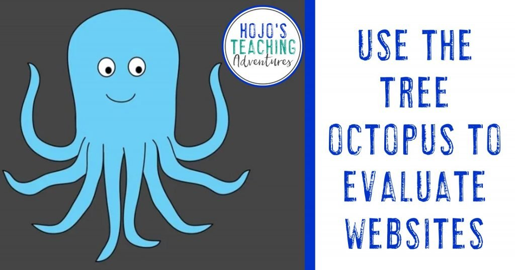 use the tree octopus to evaluate websites