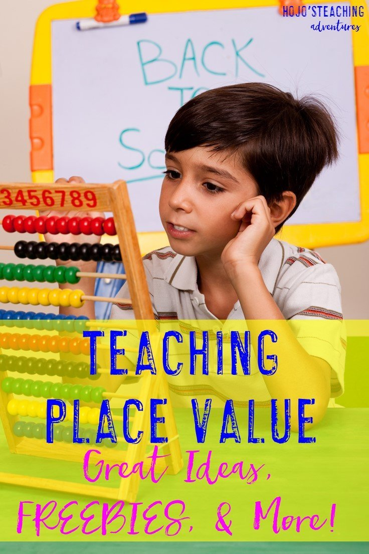 Teaching Place Value (Great Ideas, FREEBIES, and More!) Click through to see how you can best teach place value concepts to your 2nd, 3rd, 4th, 5th, or 6th grade students!