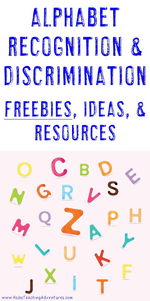 letter recognition ideas letter recognition and discrimination ideas free 6519
