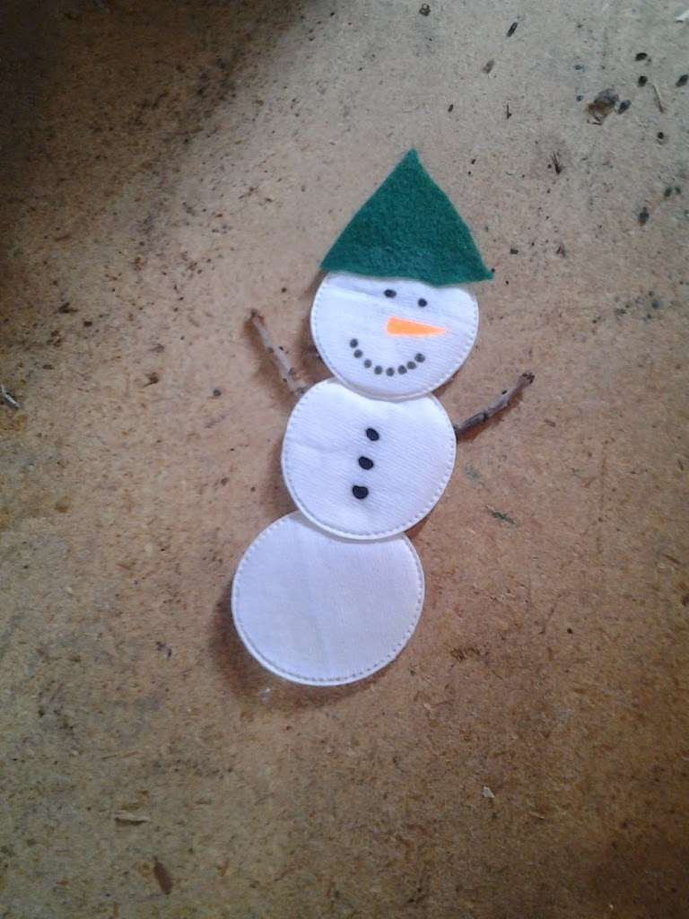 Winter Snowman Art Ideas on HoJo's Teaching Adventures