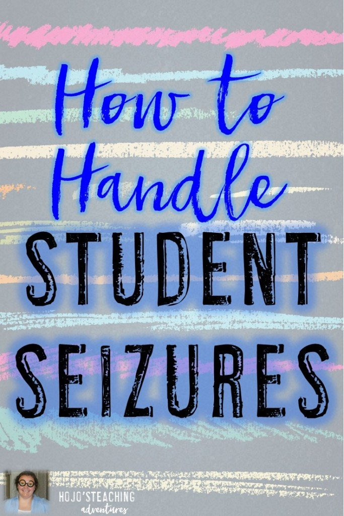 Do you have a student in your class who is prone to seizures? It can be nerve-wracking and scary to know what to do! Here's how to handle student seizures with four basic steps that any classroom teacher can begin to implement immediately!