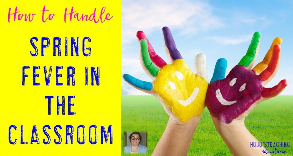 Are you looking for ideas on how to handle spring fever in the classroom? This post gives you four applicable ideas that you can start right away!
