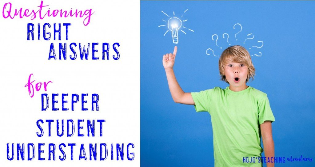 Are you making your student think critically when questioning? This simple strategy will get students thinking and justifying their reasoning with very little work on your part. Plus, it really works!