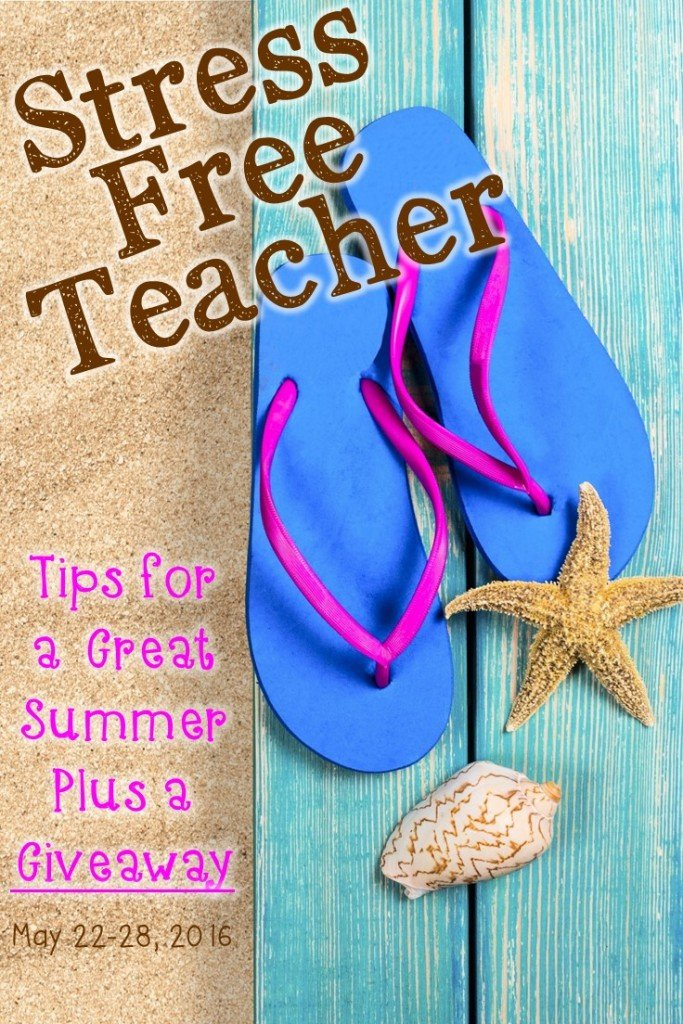 Are you a teacher? Are you stressed? Going into the summer months, we want to share a few tips to help you de-stress and unwind this summer. Plus we have a GIVEAWAY! Click through to see how you can win some great items! But act quickly because this deal ends on May 28, 2016.