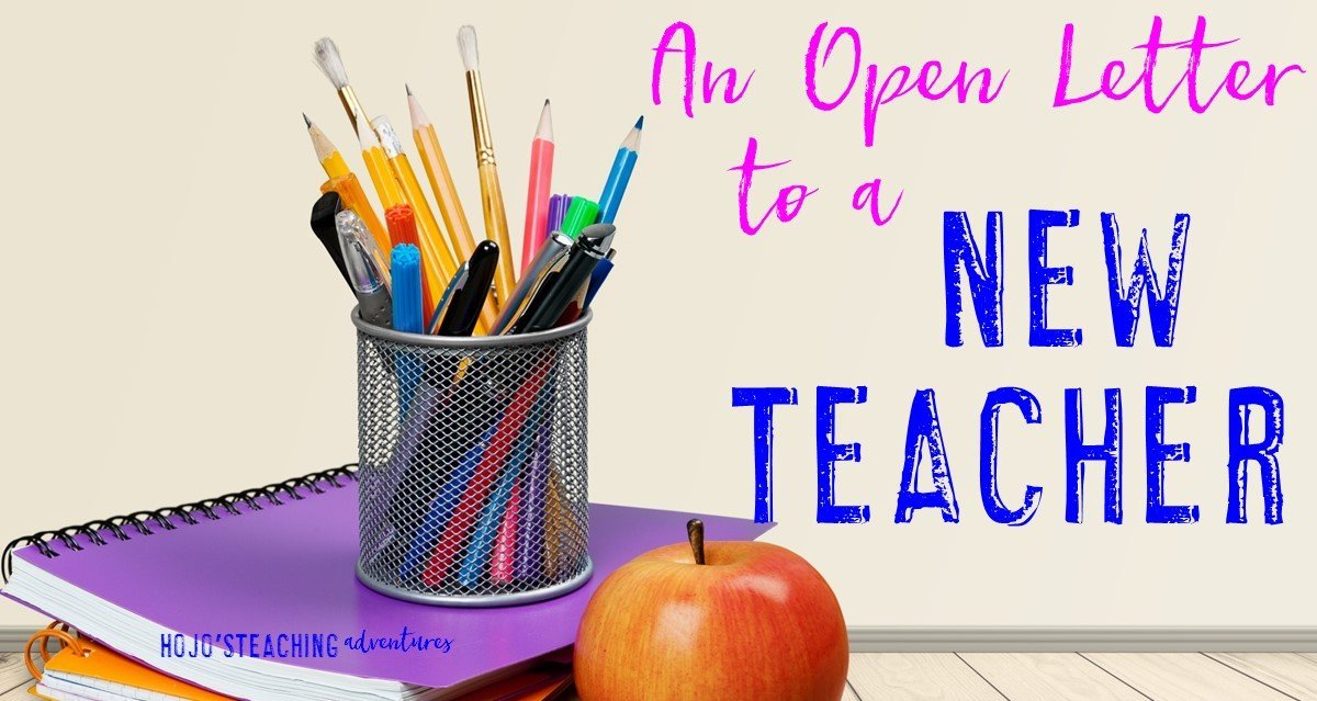 An Open Letter to a New Teacher
