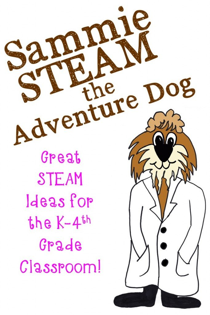 Are you looking for STEAM activities to do in your Kindergarten, 1st, 2nd, 3rd, or 4th grade classroom? This blog post will introduce you to Sammie STEAM the Adventure Dog!