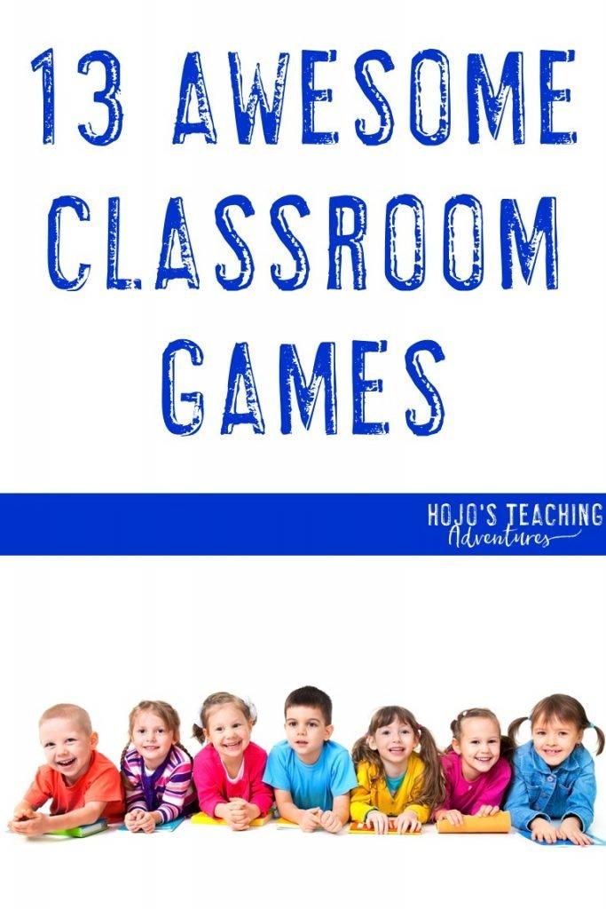 fun classroom games