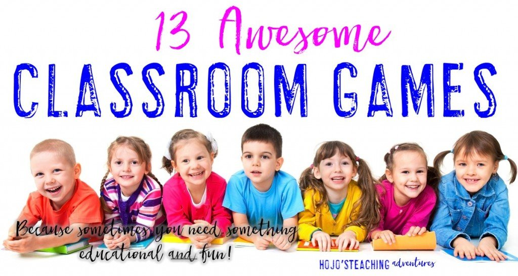 Here are 13 classroom games to use in the elementary classroom. Hands-on, engaging, and fun - your Kindergarten, 1st, 2nd, 3rd, 4th, 5th and 6th grade students will LOVE them! Make sure to check them all out today!