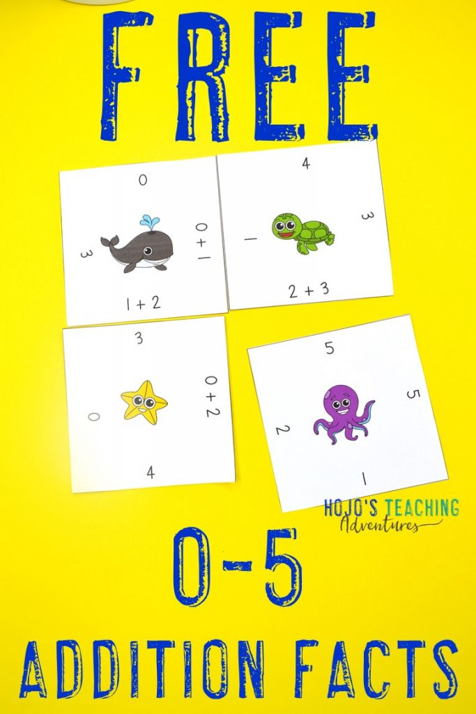 Click here to get your FREE Magic Square Puzzles with Addition from 0-5!