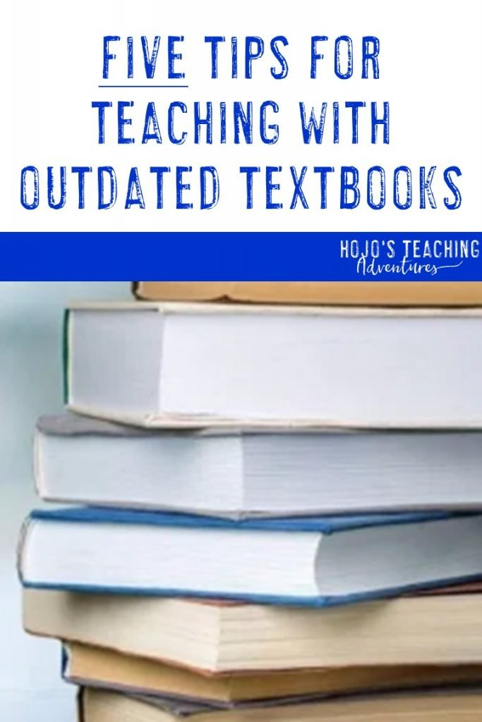 5 tips for teaching with outdated textbooks