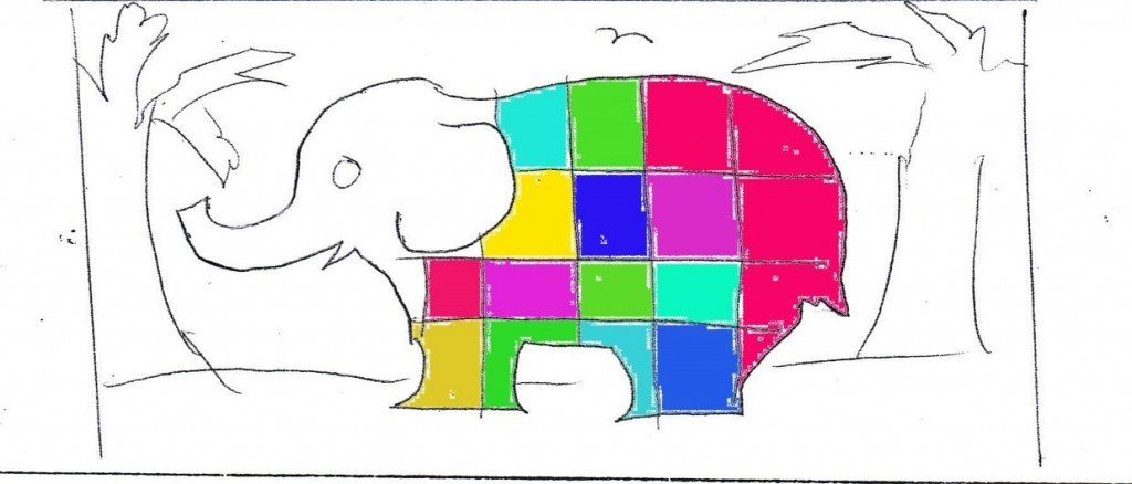 Elmer the elephant weather writing activities