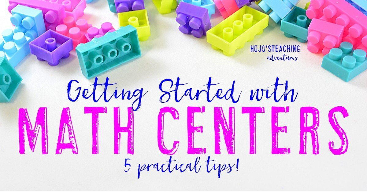 Getting Started with Math Centers