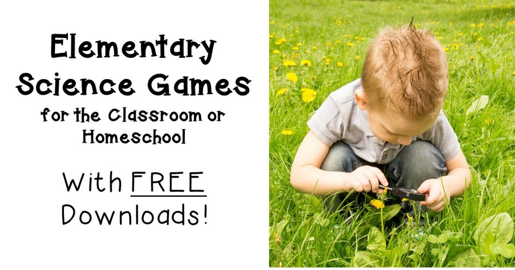 elementary science games