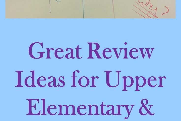 Social Studies Review in the Upper Elementary Classroom