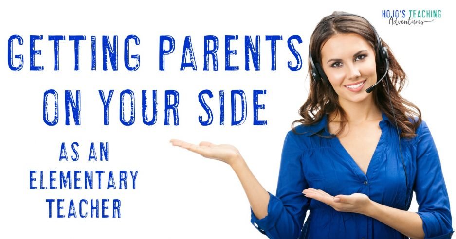 getting parents on your side