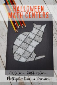 Your 1st, 2nd, 3rd, 4th, and 5th grade classroom or home school students will love being able to do math puzzles during the school year. Check out this cat puzzle for Halloween or October math stations. Your students can practice addition, subtraction, multiplication, and division math skills. Plus get a FREE download at the blog post to test out the puzzle game format. Great for math centers! {first, second, third, fourth, fifth graders, freebie, homeschool}