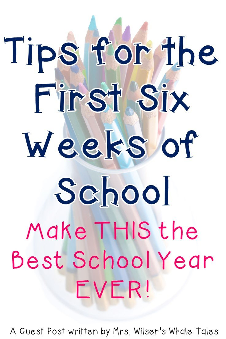 Classroom management is vital to the success of any teacher. But getting those behaviors under control can be a real challenge. Here are some great ideas to help you make it through the first six weeks of school. Teachers at ANY grade level will benefit from these ideas, but they're particularly useful for elementary staff. {preschool, Kindergarten, 1st, 2nd, 3rd, 4th, 5th, 6th grade}