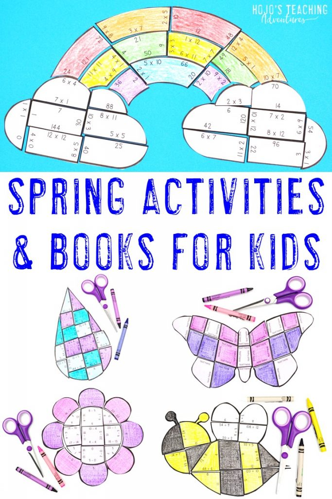 Spring Activities & Books for Kids