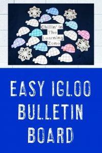 Easy Igloo Bulletin Board