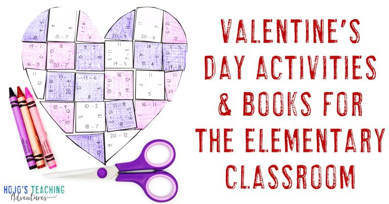 Valentine's Day Activities and Books for the Elementary Classroom