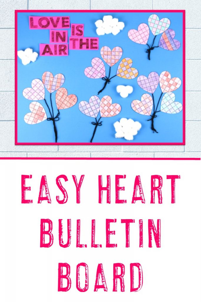 Heart Bulletin Board Idea