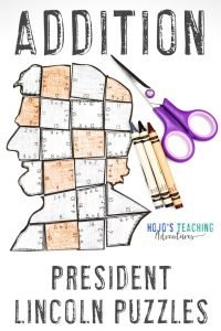 President Lincoln Addition Puzzle