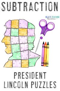 President Lincoln Subtraction Puzzle