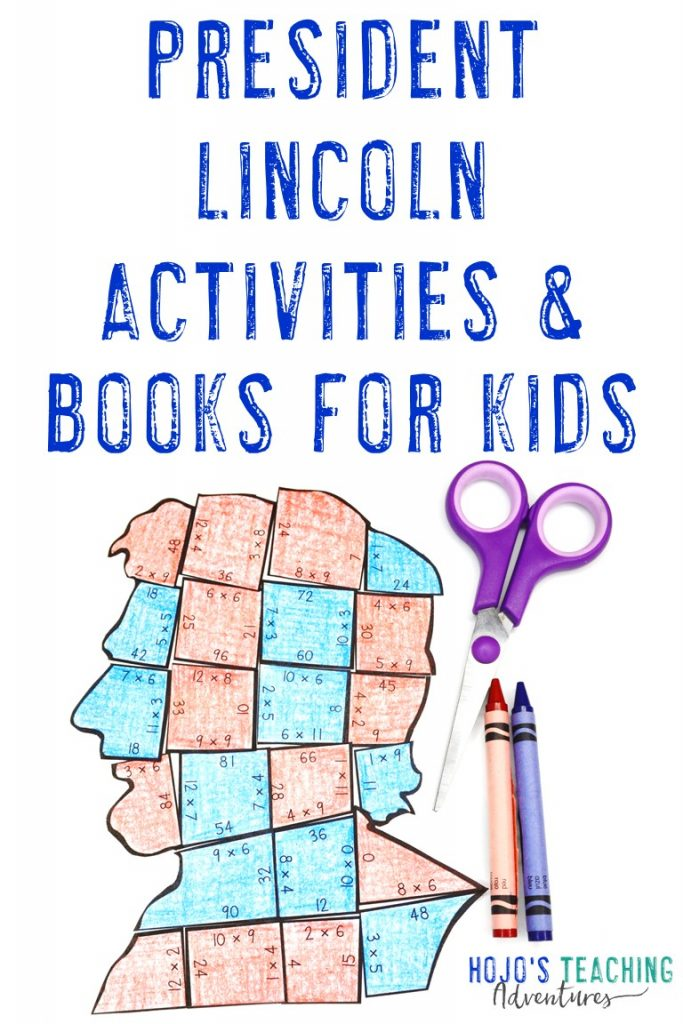 President Lincoln Activities & Books for Kids