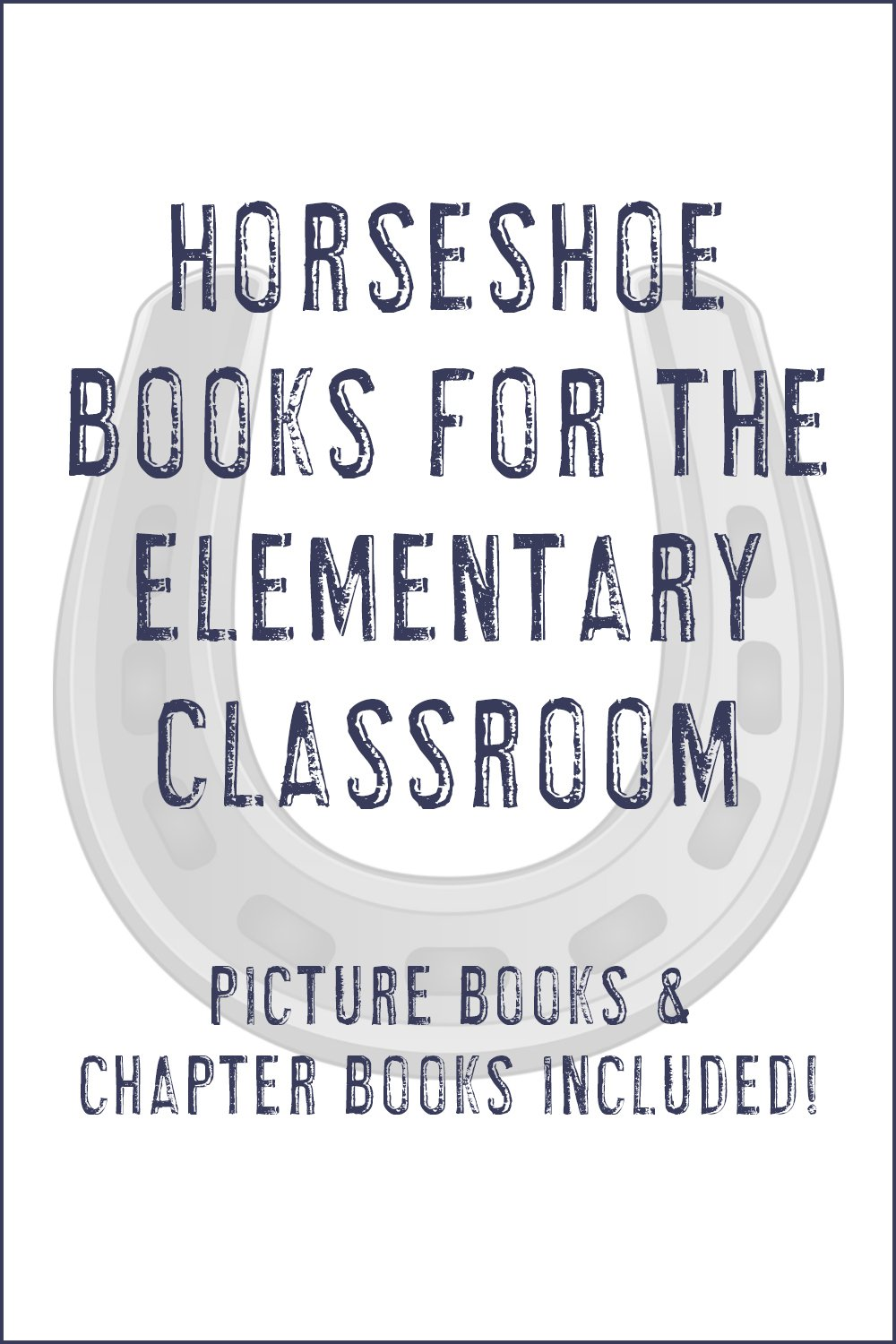St. Patrick's Day and horseshoe books for the elementary classroom