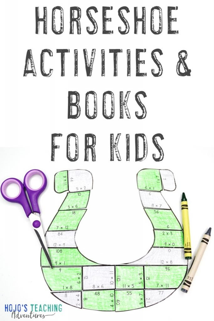 Horseshoe Activities & Books for Kids