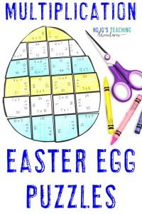 Click here to buy a set of multiplication Easter egg puzzles!
